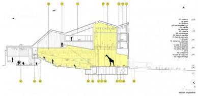 Městské divadlo v Zafra - Podélný řez - foto: KRAHE arquitectos