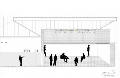Městské divadlo v Zafra - Detail lobby - foto: KRAHE arquitectos