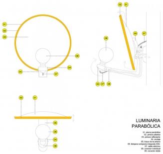 Městské divadlo v Zafra - Detail osvětlení - foto: KRAHE arquitectos