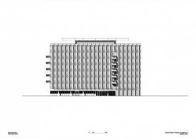 City Green Court - Jižní pohled - foto: Richard Meier & Partners