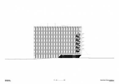 City Green Court - Západní pohled - foto: Richard Meier & Partners