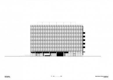 City Green Court - Severní pohled - foto: Richard Meier & Partners