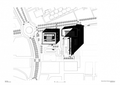 City Green Court - Situace - foto: Richard Meier & Partners