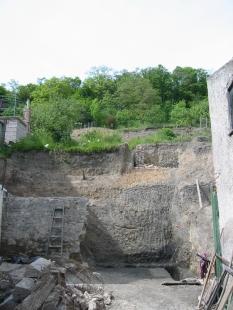 Rodinný dům Praha 9 - Pozemek před výstavbou