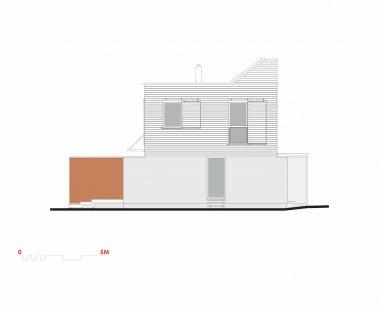 Rodinný dům ve Zdibech - Pohled východní