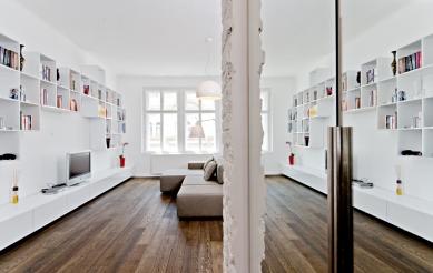 Rekonstrukce bytu Korunní - foto: Martin Zeman