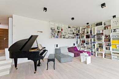 Interiér rodinného domu Na Hvězdárně - foto: Martin Zeman