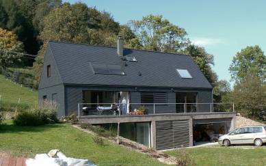 Rodinný dům v Kryštofově Údolí