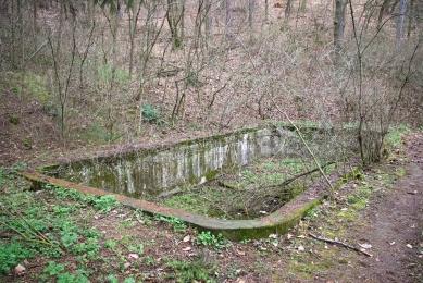 Obnova lesoparku v Novém Lískovci v Brně - Bazén před rekonstrukcí - foto: Marek Jan Štěpán