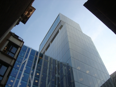 Centrála banky rodiny Rothschilds - Pohľad - foto: Rasťo Udžan, 2011