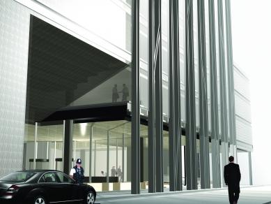 Centrála banky rodiny Rothschilds - Pohľad - foto: Image courtesy OMA