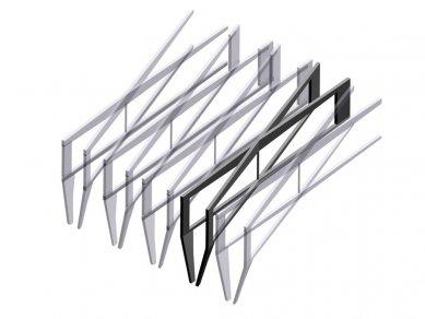 Lille School of Architecture - Axonometrie konstrukce