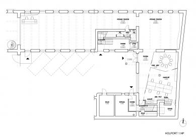 Kanceláře a recepce pro Konsepti - 1NP