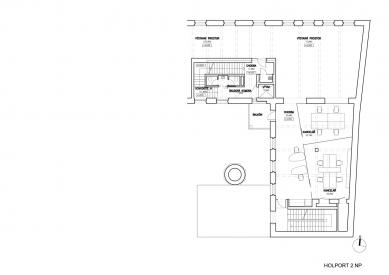 Kanceláře a recepce pro Konsepti - 2NP