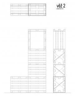 Instalace výstavy Současný český industriál - Věž 2