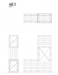 Instalace výstavy Současný český industriál - Věž 3