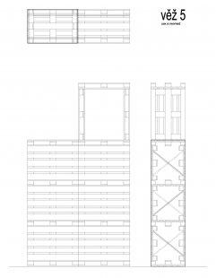 Instalace výstavy Současný český industriál - Věž 5