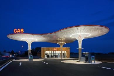 Čerpací stanice pohoných hmot GAS - foto: Tomáš Souček