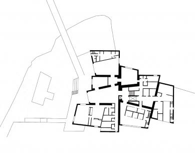 Galerie Hepworth Wakefield - Půdorys přízemí - foto: David Chipperfield Architects