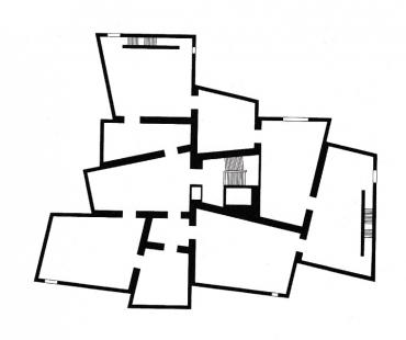 Galerie Hepworth Wakefield - Půdorys 1.np - foto: David Chipperfield Architects