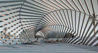 Pavilon v rekreačním parku Torrevieja - Vizualizace - foto: Toyo Ito and Associates, Architects