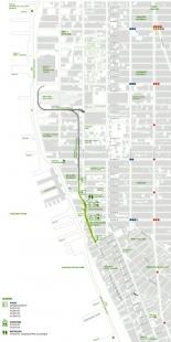 High Line Park - Situace