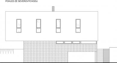 Rodinný dům Ráječko - Pohled SV