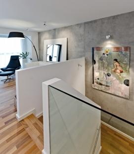 Interiér bytu v Cornlofts - foto: Martin Zeman