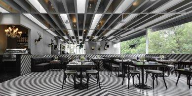 Interiér baru a čajovny Celeste - foto: © Rafael Gamo