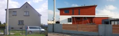 Rekonstrukce rodinného domu v Děhylově - Stav před a po rekonstrukci - foto: WMA architects