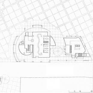 Ulm Exhibition and Assembly Building - Půdorys přízemí - foto: Richard Meier & Partners Architects LLP