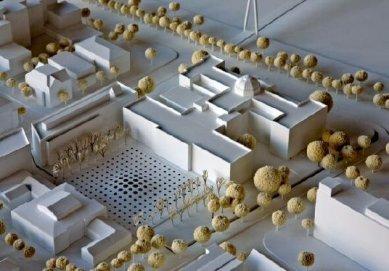 Staedel Museum extension - Model - foto: Schneider + Schumacher