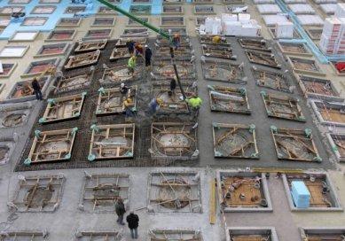 Staedel Museum extension - Fotografie z průběhu stavby - foto: Schneider + Schumacher
