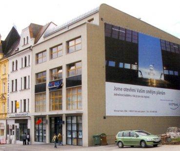 Polyfunkční dům HVB - foto: Jan Jehlík Architektonická Kancelář