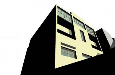 Polyfunkční dům HVB - Vizualizace - foto: Jan Jehlík Architektonická Kancelář