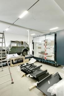 Vojenské muzeum - foto: © Bitter Bredt Courtesy of Studio Daniel Libeskind