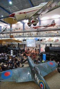 Exposition of the Transportation History in the NTM - Během koncertu Prazškého jara na poctu Johna Cage.   - foto: Petr Šmídek, 2012