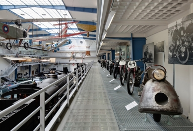 Exposition of the Transportation History in the NTM - foto: Tomáš Souček
