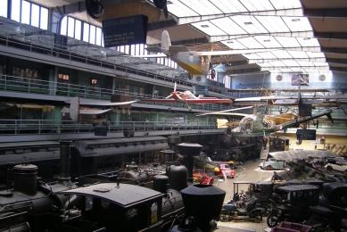 Exposition of the Transportation History in the NTM - Původní stav - foto: Skupina