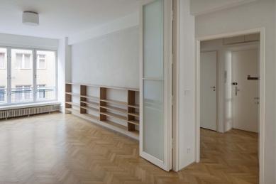 Úprava bytu ve funkcionalistickém domě v Praze na Letné - foto: Tomáš Balej