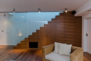 Interiér rodinného domu v Červeném Újezdu - foto: Martin Zeman