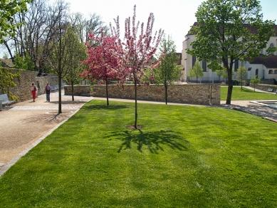 Klášterní zahrady v Litomyšli