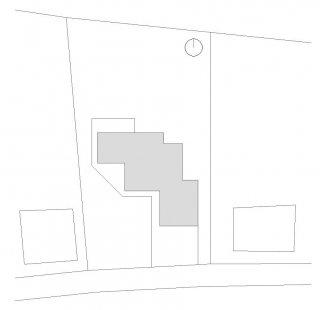 Rodinný dům v Kunraticích - Situace - foto: Architektura s.r.o.