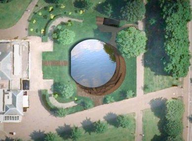 Serpentine Gallery Pavilion 2012 - Situace - foto: Herzog & de Meuron