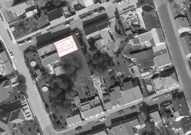 Dům - zahrada vDolních Chabrech - Situace - foto: Šépka architekti