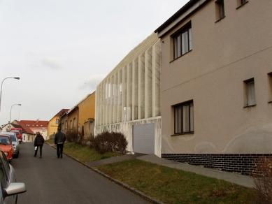 Dům - zahrada vDolních Chabrech - Zákres do fotografie - foto: Šépka architekti