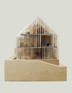 Dům - zahrada vDolních Chabrech - Model - foto: Šépka architekti