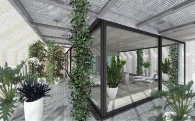 Dům - zahrada vDolních Chabrech - Rohový pohled - foto: Šépka architekti