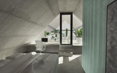 Dům - zahrada vDolních Chabrech - foto: Šépka architekti