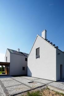 Rodinný dům Polabí - foto: Andrea Thiel Lhotáková